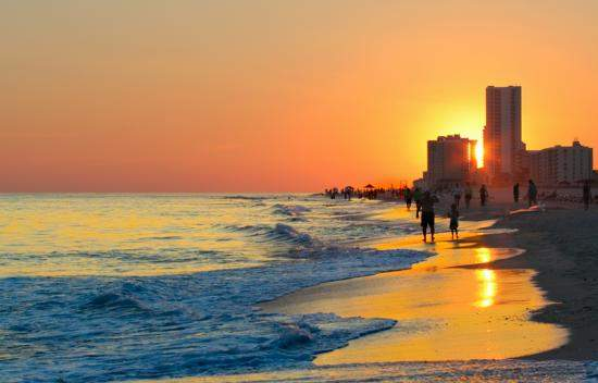 Orange Beach Alabama Sunset